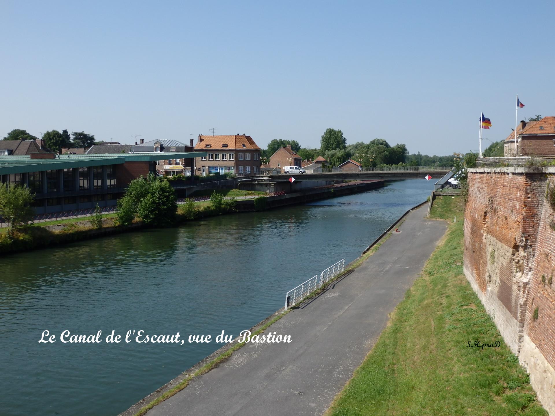 Le Canal de l-Escaut